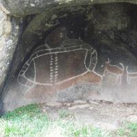 Bunjils Cave rock art shelter, Grampians